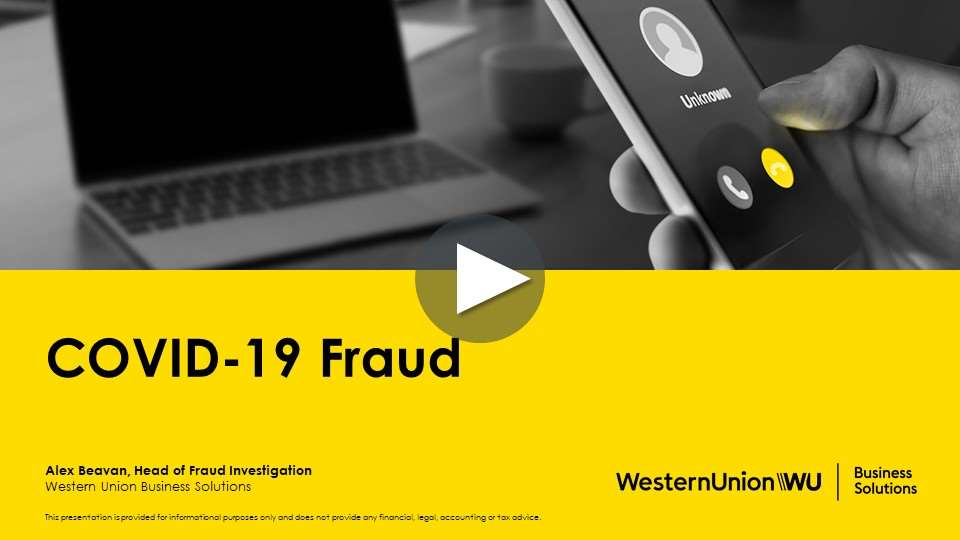 WATCH NOW: Fraud protection during the COVID-19 pandemic