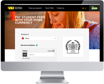 Simplified payments for your students, and reduced administration for you